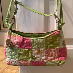 Super Cute Patchwork shoulder bag/clutch